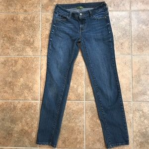Garnet Hill Straight Leg Jeans - 00